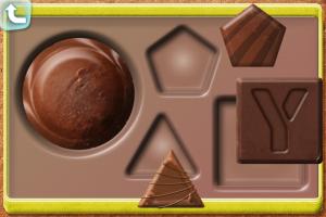 チョコレートのパズル