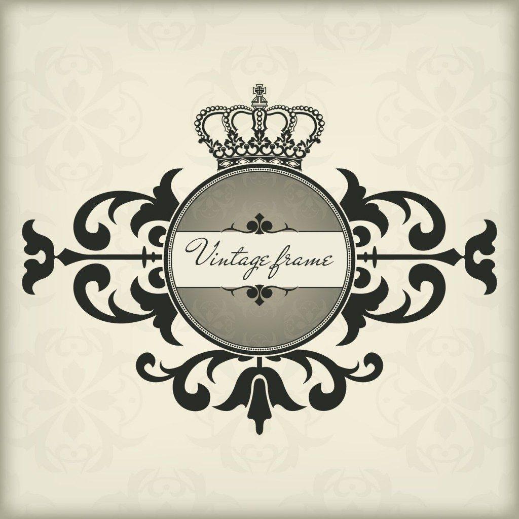 王冠の形をした紋章
